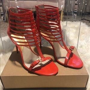 Michael kors caged sandal size 9.5